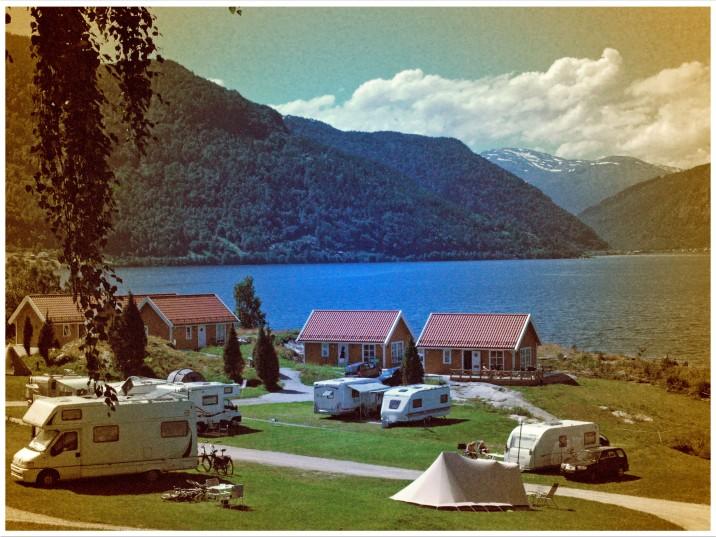 Campingplatz am Sognefjord