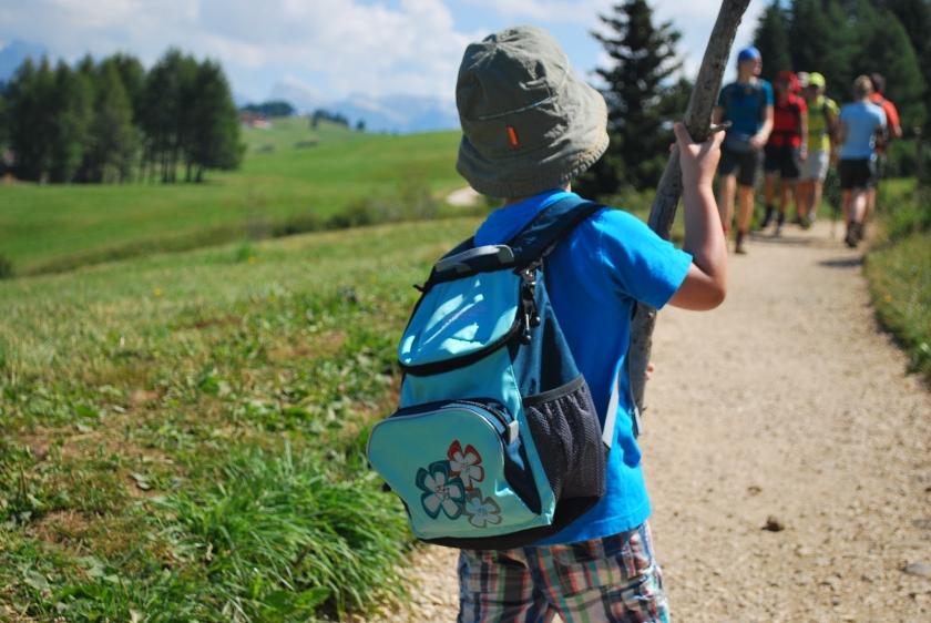 Bergsommer Seiser Alm_Wandern Kinder