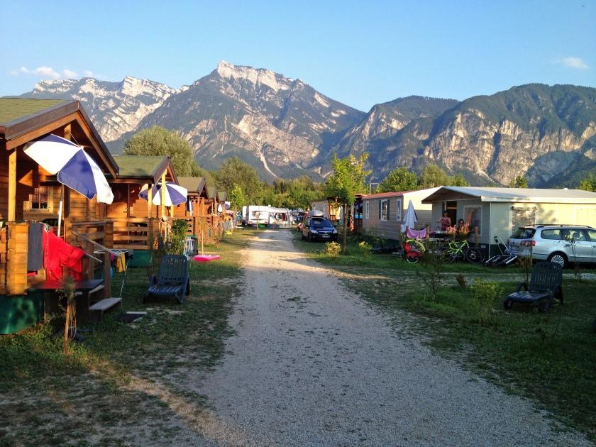 Camping Lago Levico Berge