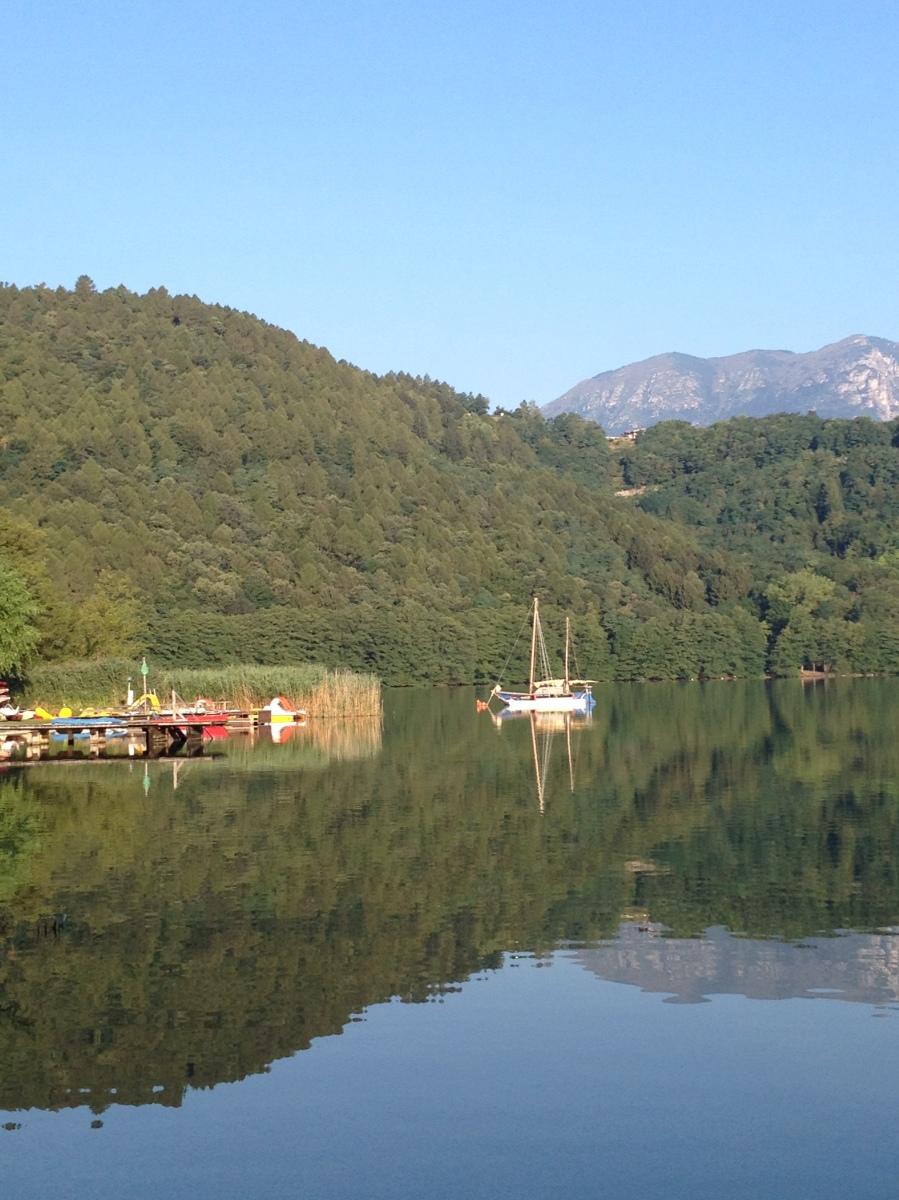 Camping für Anfänger – Im Mobile Home am Lago di Levico