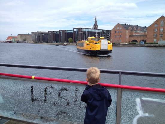 Wasserbus in Kopenhagen