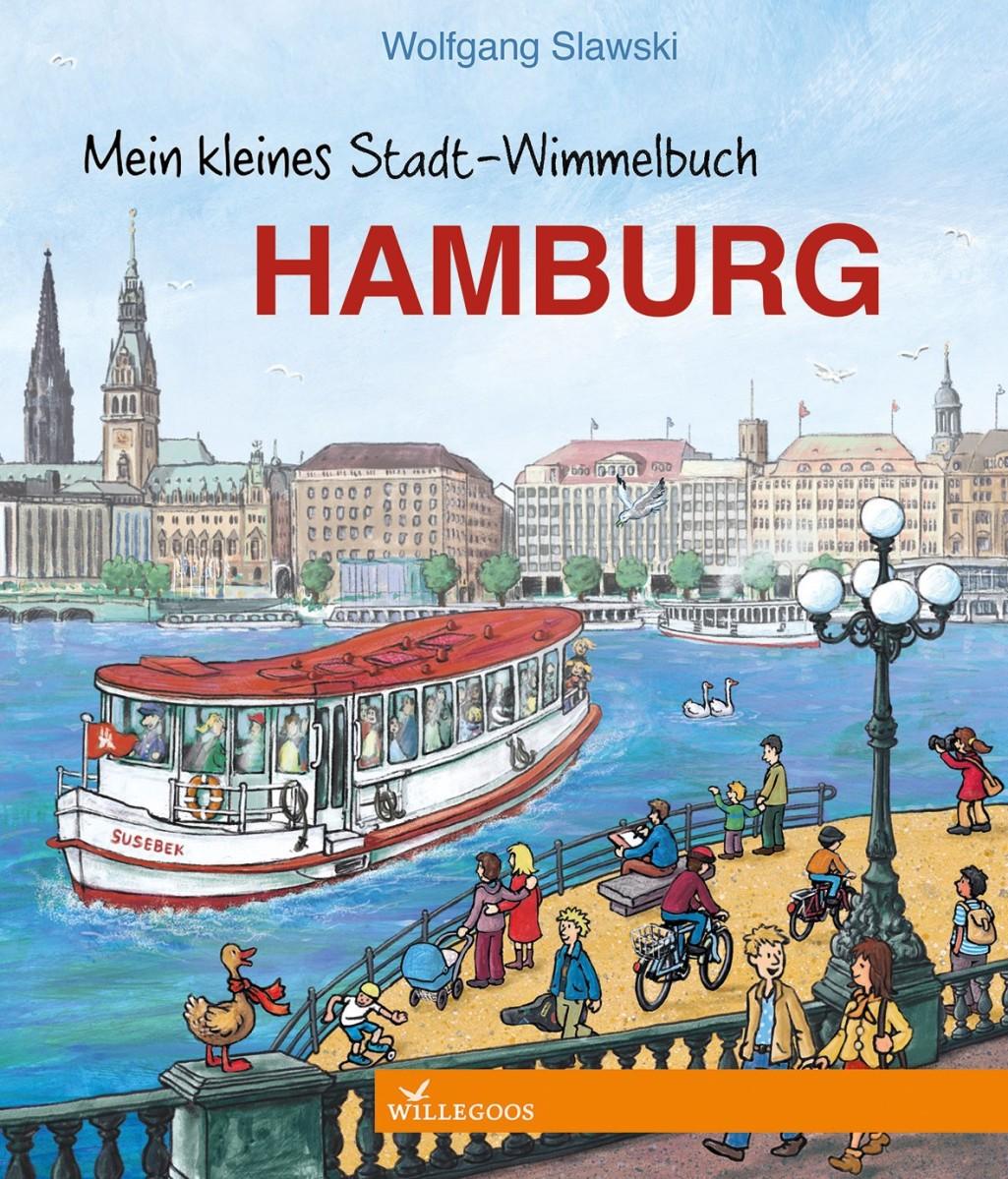 Buchtipp: Stadt-Wimmelbuch Hamburg